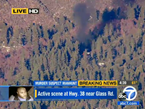 Police and Alleged Cop Killer Dorner in Firefight