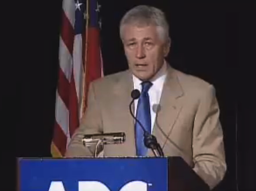 Exclusive–The Hagel Speech that 'Wasn't': More Evidence Emerges of Failure to Disclose