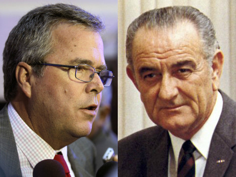 Jeb Bush: I Would Govern Like Lyndon Johnson as President