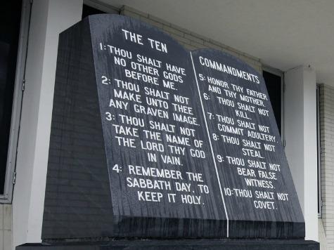 Federal Court Dismisses Lawsuit Against Ten Commandments Display