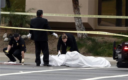 Authorities: 4 Dead in California Shooting Spree