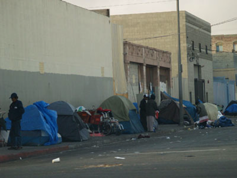 Tuberculosis Outbreak in LA Homeless Community