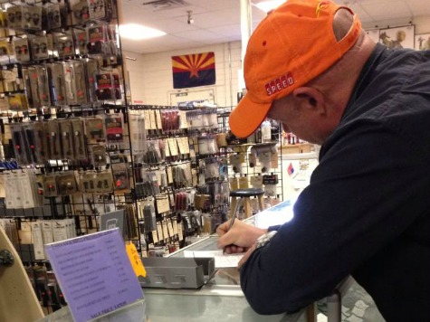 Denied: Gun Store Owner Refuses to Hand AR-15 over to Mark Kelly