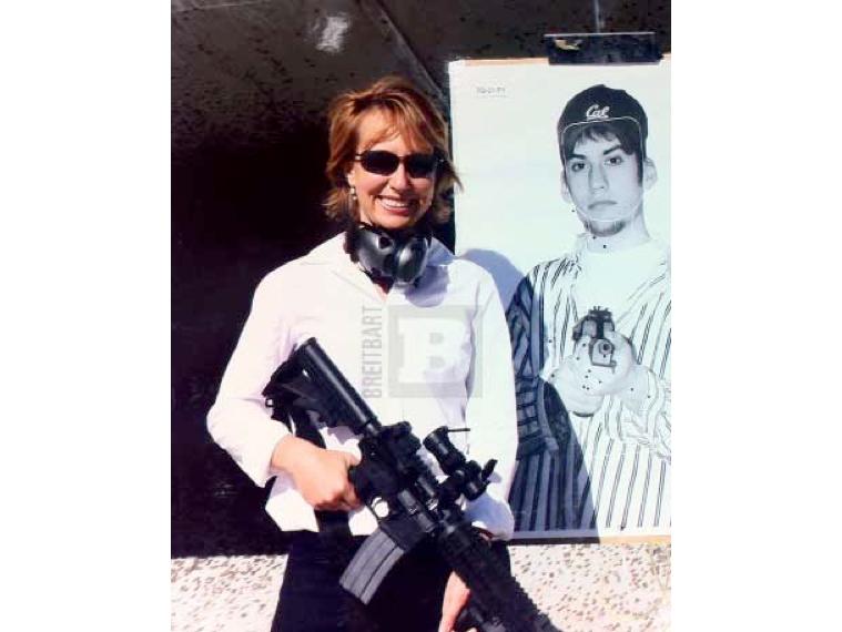 Mark Kelly's 'AR-15 Stunt' Provokes Giffords Photo Leak