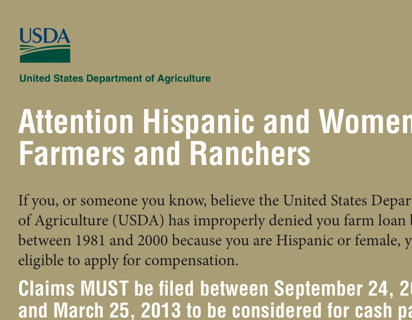 USDA Outreach: Spending Your Tax Dollars To Advertise Giving Them Away