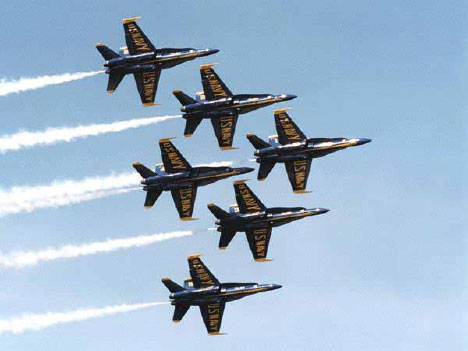 Sequester: Pentagon Suspends Thunderbird, Blue Angel Air Shows