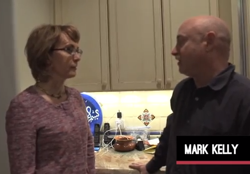 Backfire: Mark Kelly Filmed Himself to Show 'Background Checks Are Easy'