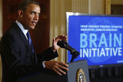 Obama Proposes $100M for Brain Mapping Project