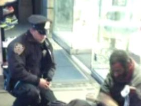 Barefoot Bum Given Boots by Cop Isn't Quite So Homeless