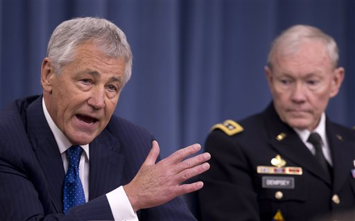 Hagel, Dempsey Face Congress over Defense Budget
