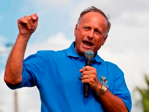 Steve King Leads House Reps' Fight Against Amnesty