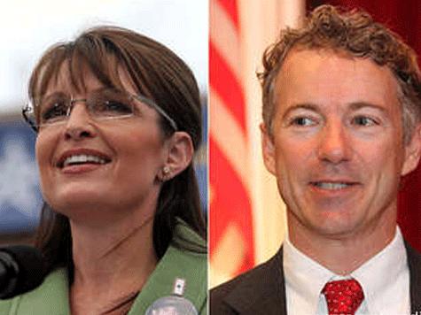 Palin Praises Rand Paul for Fighting DC Establishment in 'Time 100' Tribute