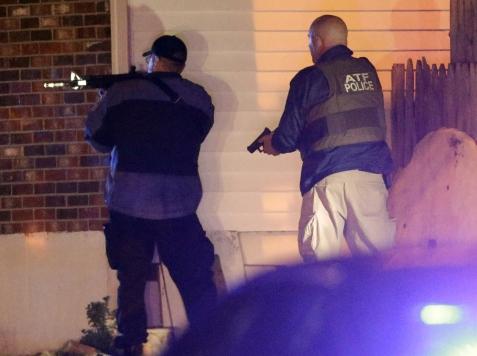 Boston on Lockdown as Manhunt Intensifies
