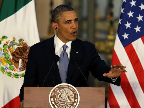 Obama in Mexico: 'Without Strong Support of Hispanics' I Would Not Be President