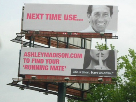 Adultery Website Uses Mark Sanford on Billboard Ad