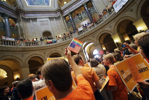 Minnesota Senate OKs Gay Marriage; Governor to Sign