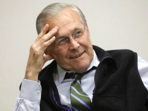 Rumsfeld: Clinton Statement On Benghazi Irresponsible
