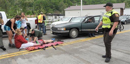 Up to 60 Injured After Car Drives into VA Parade