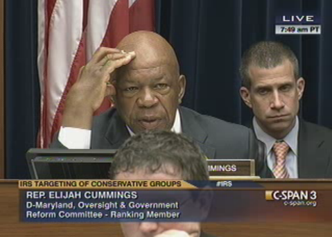 Cummings Fails to Ask Shulman If He Is a Democrat
