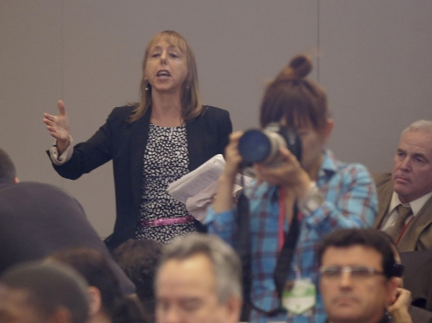 Who Invited Code Pink's Medea Benjamin to Obama's Speech?