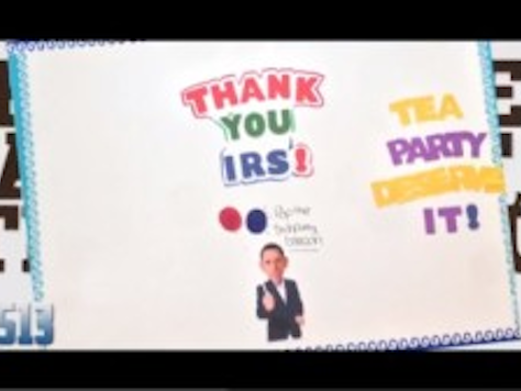 College Students Sign Thank You Card to IRS for Anti-Conservative Discrimination