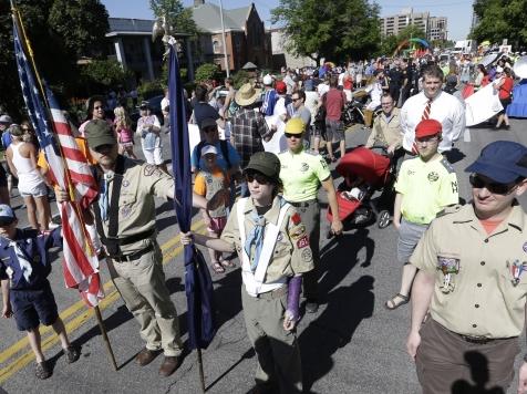 Boy Scouts Defy Rules, Wear Uniforms in Gay Pride Parade