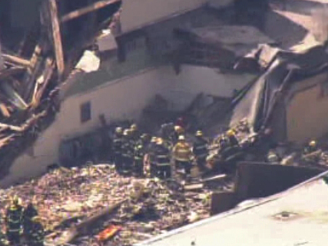 Pa. building collapses, people believed trapped