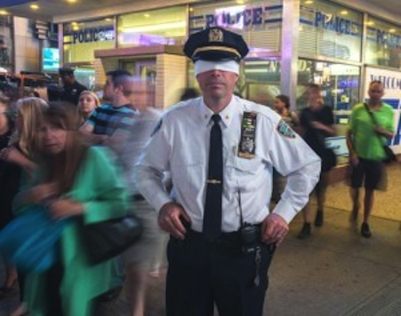 NYPD: City Council Wants to 'Blindfold' Police Officers