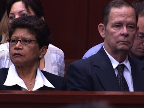 Zimmerman Parents Barred from Courtroom, Trayvon's Parents Allowed to Stay