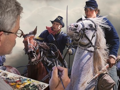 **BATTLECAST** Renowned Canadian Artist to Paint Live at Gettysburg