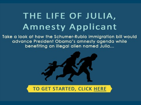 Spoof of Obama's 'Life of Julia' Campaign Ad Examines Life After Amnesty Bill