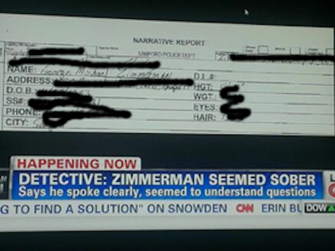 CNN Broadcasts Zimmerman Social Security Number
