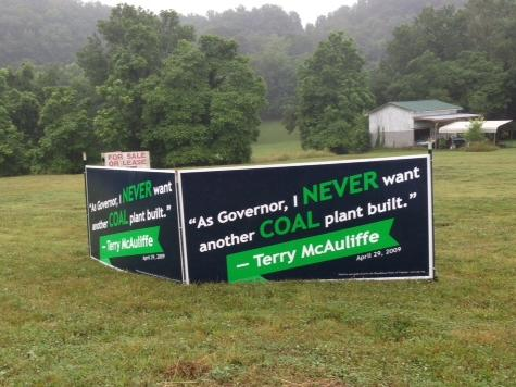 McAuliffe Supports Obama's 'War on Coal' Despite New Campaign Rhetoric