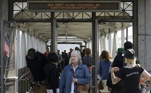 Transit Union Continues Strike in San Fran