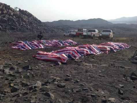 Photo Of Fallen Arizona Firefighters Stirs Debate