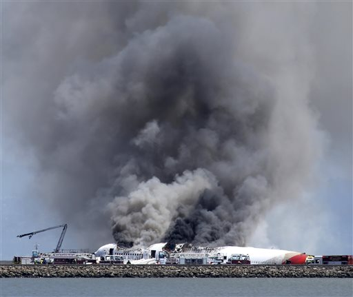 In SFO Air Disaster, Citizens Lead Networks in Breaking News