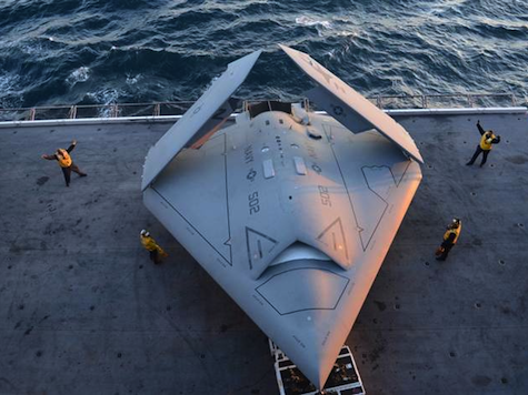 Navy Drone Completes First-Ever Carrier Landing