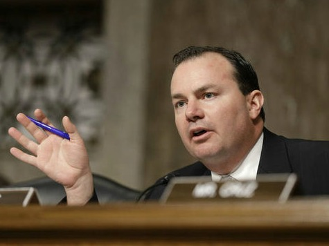 Sen. Mike Lee Warns of Gov. Shutdown if Dems Won't Defund ObamaCare