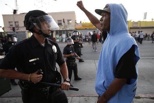 Nine arrested in Zimmerman Protests in Oakland