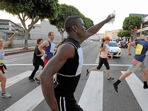 LAPD Arrests One at Anti-Zimmerman 'Fun Run' in Westwood