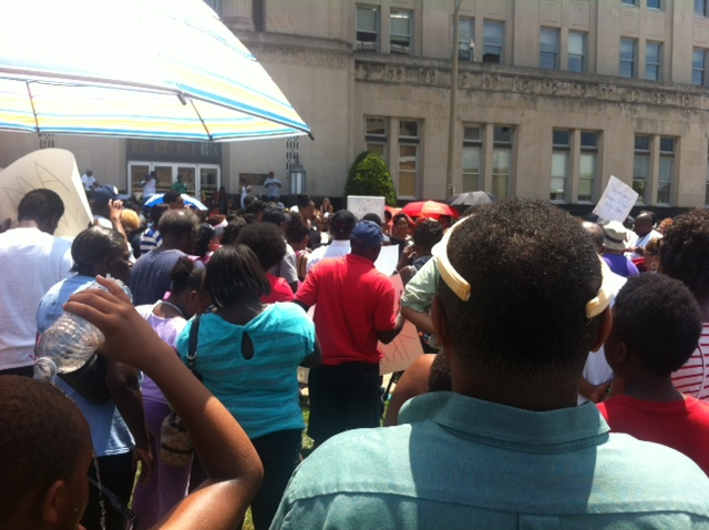 As Temps Rise, Trayvon Rallies Get More Political