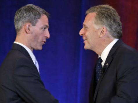 McAuliffe Stumbles in First Debate with Cuccinelli