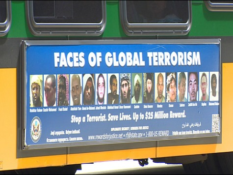 Seattle Transit Refuses AFDI FBI 'Faces of Global Terrorism' Ad