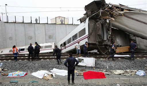 At Least 77 People Dead in Spain Train Accident