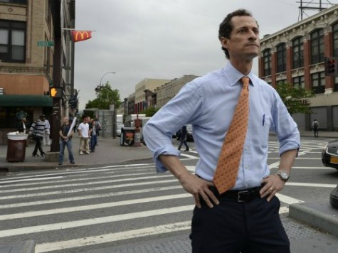 POLL PROBLEM: Majority of Dems Want Weiner to Pull Out