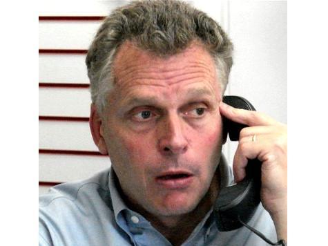 Virginia Democrats Organize Press Call, McAuliffe Takes No Questions