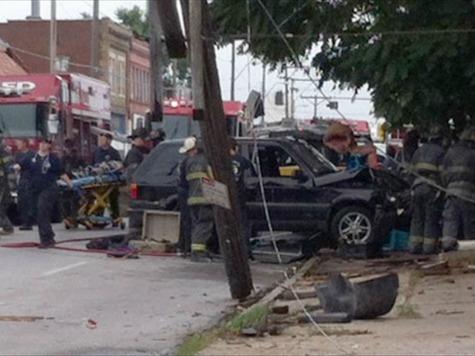 Car Crashes into Kansas City Day Care