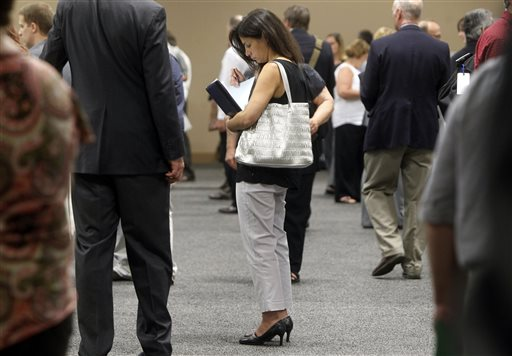 Miss: Just 162K jobs Added, rate falls to 7.4 pct.