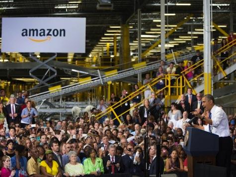 Obama Visited Amazon 6 Days Before Founder Bought WaPo
