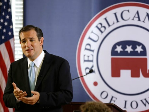 Cruz to Keynote Annual Iowa GOP Reagan Dinner